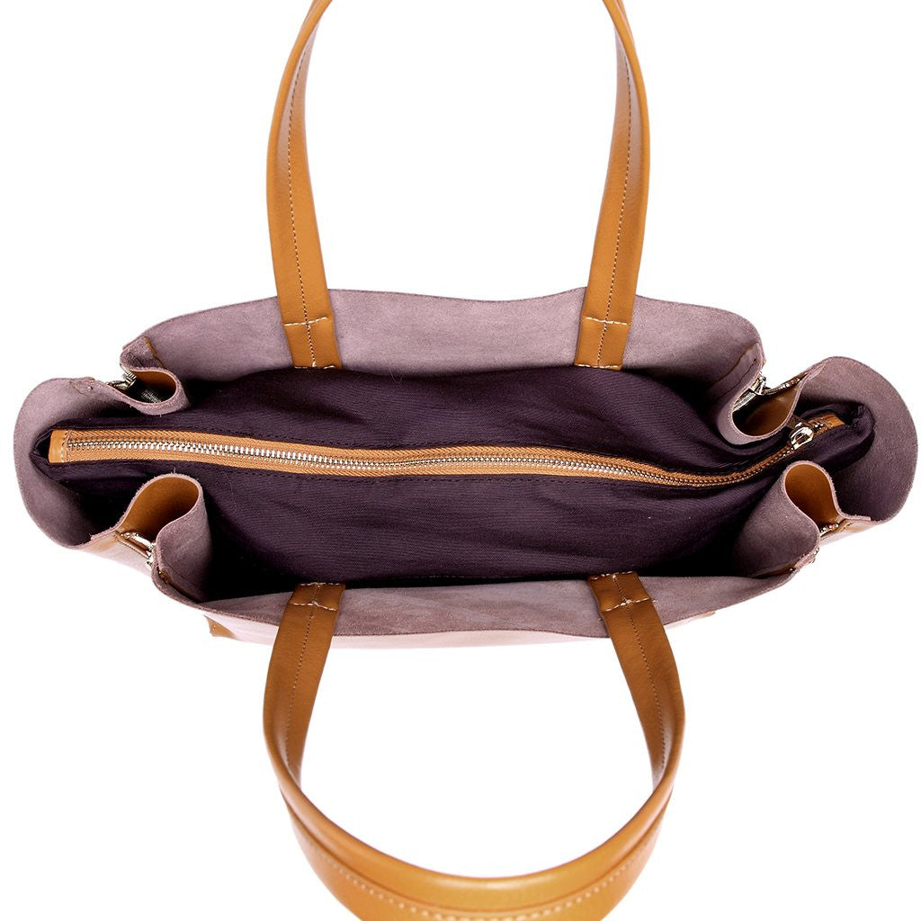 Tess Genuine Leather Ingrid Tote