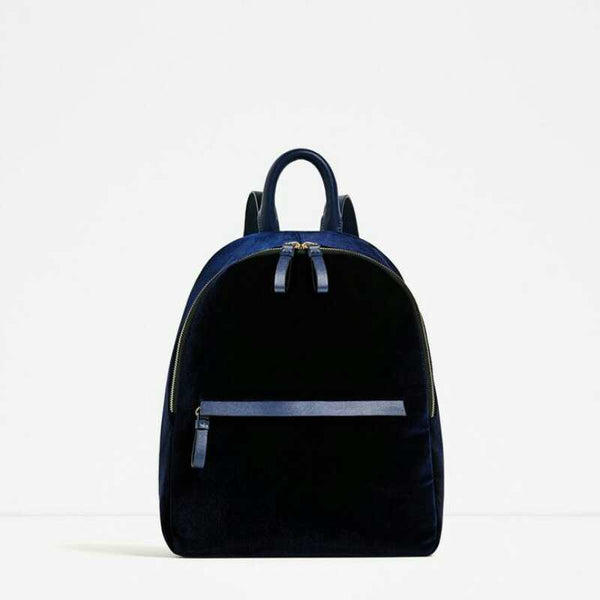 Daisy Velvet Backpack