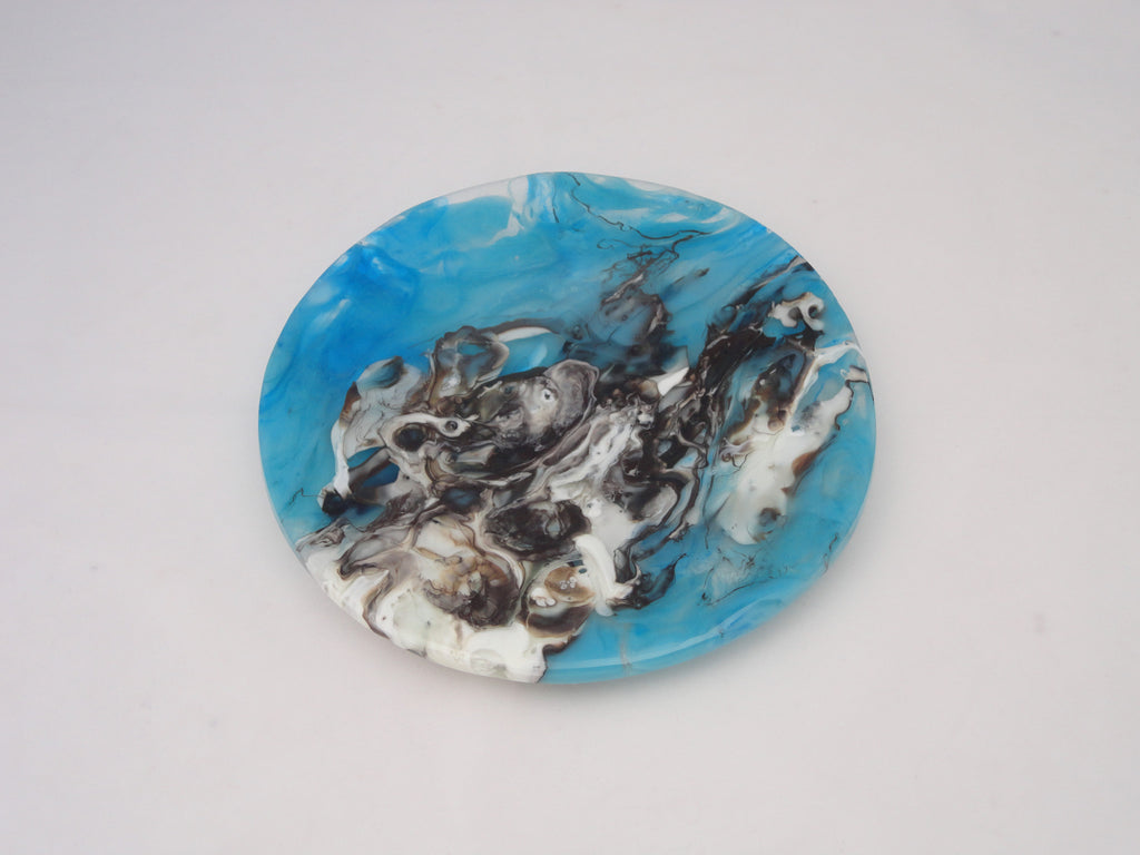 Classic Bowl - 215 - Chaos - Turquoise Vanilla - M90