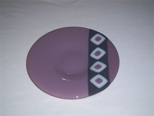 Classic Bowl - 215 - Twin Diamond Peaks - Lilac Trio