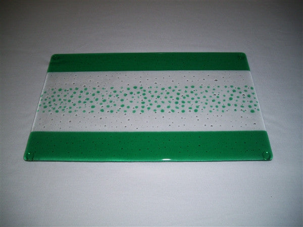 Cheese Board Large - Bands & Sprinkles - Pure Emerald
