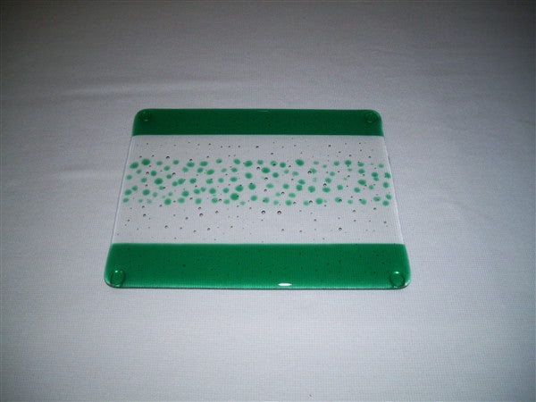 Cheese Board Small - Bands & Sprinkles - Pure Emerald
