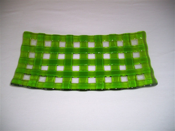 Flared Rectangular Plate - Lattice - Pure Spring