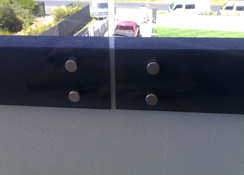 #2 Balustrade Frameless Glass & Stainless Steel Pin Fixings