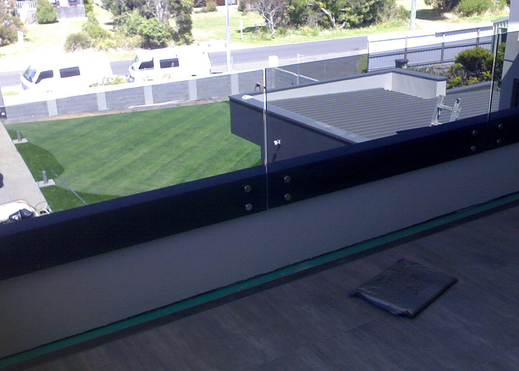 #3 Balustrade Frameless Glass & Stainless Steel Pin Fixings