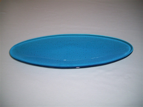 Long Oval Dish - Delight - Turquoise