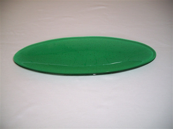 Long Oval Dish - Delight - Emerald