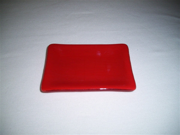 Mini Rectangular Dish  - Delight - Red Opal