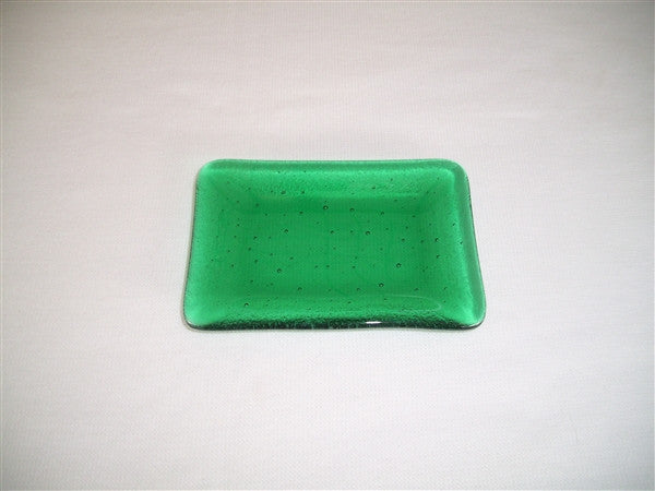 Mini Rectangular Dish  - Delight - Emerald