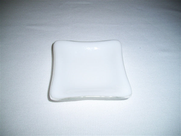 Mini Square Dish  - Delight - Snow