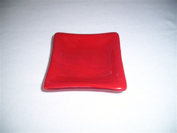 Mini Square Dish  - Delight - Red Opal