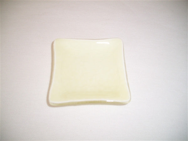 Mini Square Dish  - Delight - Vanilla
