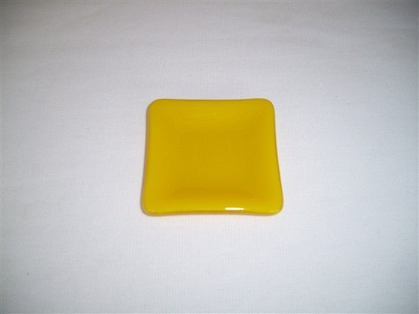 Mini Square Dish  - Delight - Sunflower