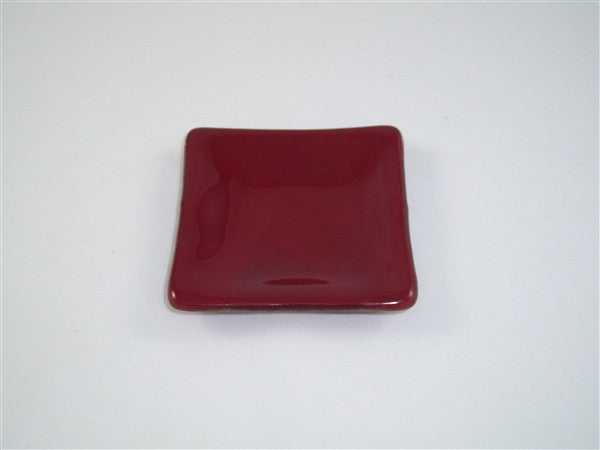 Mini Square Dish  - Delight - Deep Red