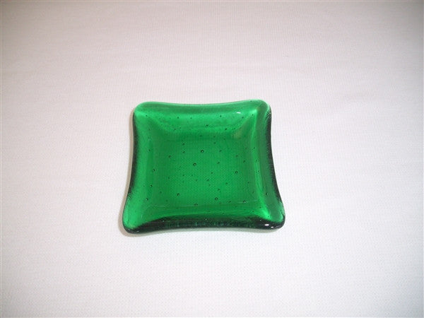 Mini Square Dish  - Delight - Emerald