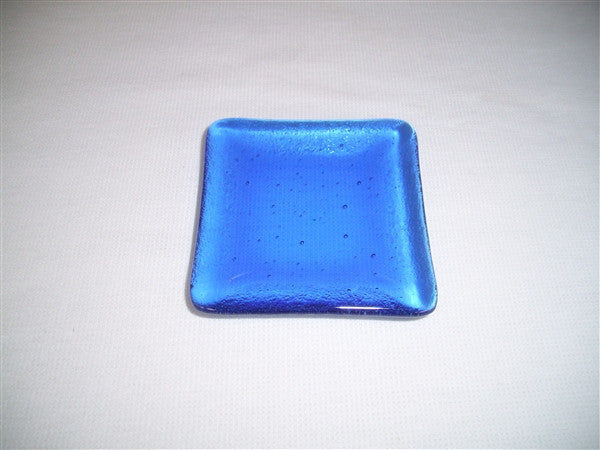 Mini Square Dish  - Delight - True Blue