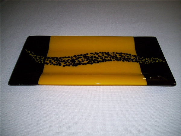Rectangular Plate - Changing Breeze - Sunflower Ink