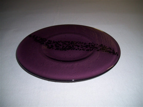 Round Plate - Breeze - Light Violet Ink