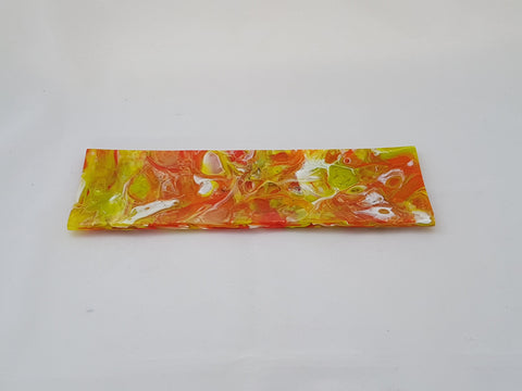 Shallow Rectangular Plate - 105 - Chaos - 3 Citrus - M144