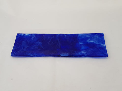 Shallow Rectangular Plate - 105 - Chaos - Royal Cobalt - M151