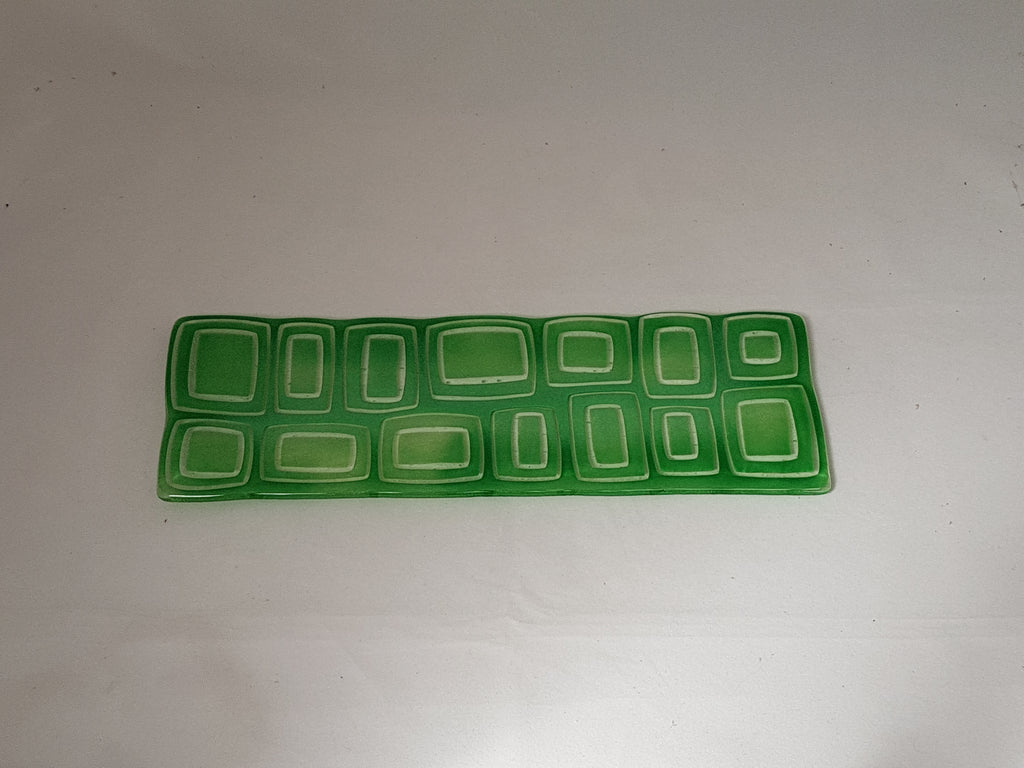 Shallow Rectangular Plate - 105 - Stacks - Fading Jade