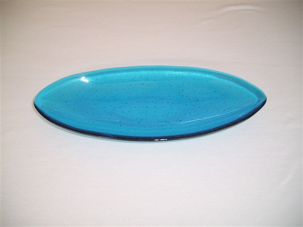 Short Oval Dish - Delight - Turquoise