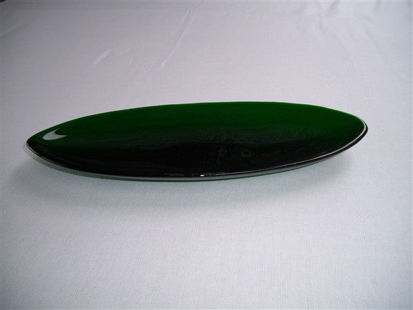 Short Oval Dish - Delight - Kelly Green