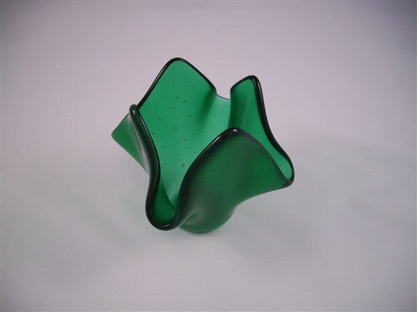 Tea Light Holder - Delight - Emerald