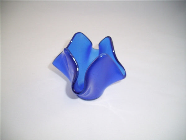 Tea Light Holder - Delight - True Blue