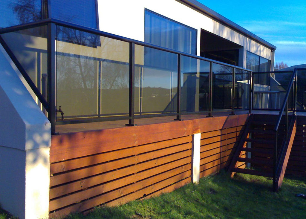 #4 Balustrades Fully Framed Glass & Aluminium