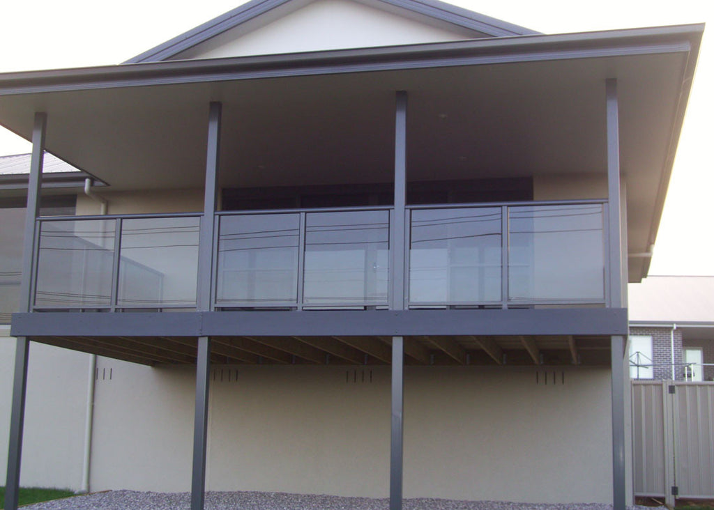 #2 Balustrades Fully Framed Glass & Aluminium