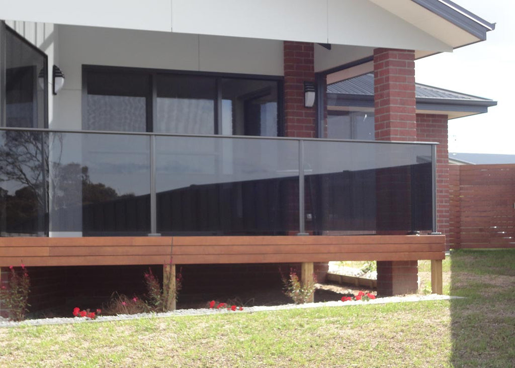 #3 Balustrade Balustrades Semi Framed Glass & Aluminium