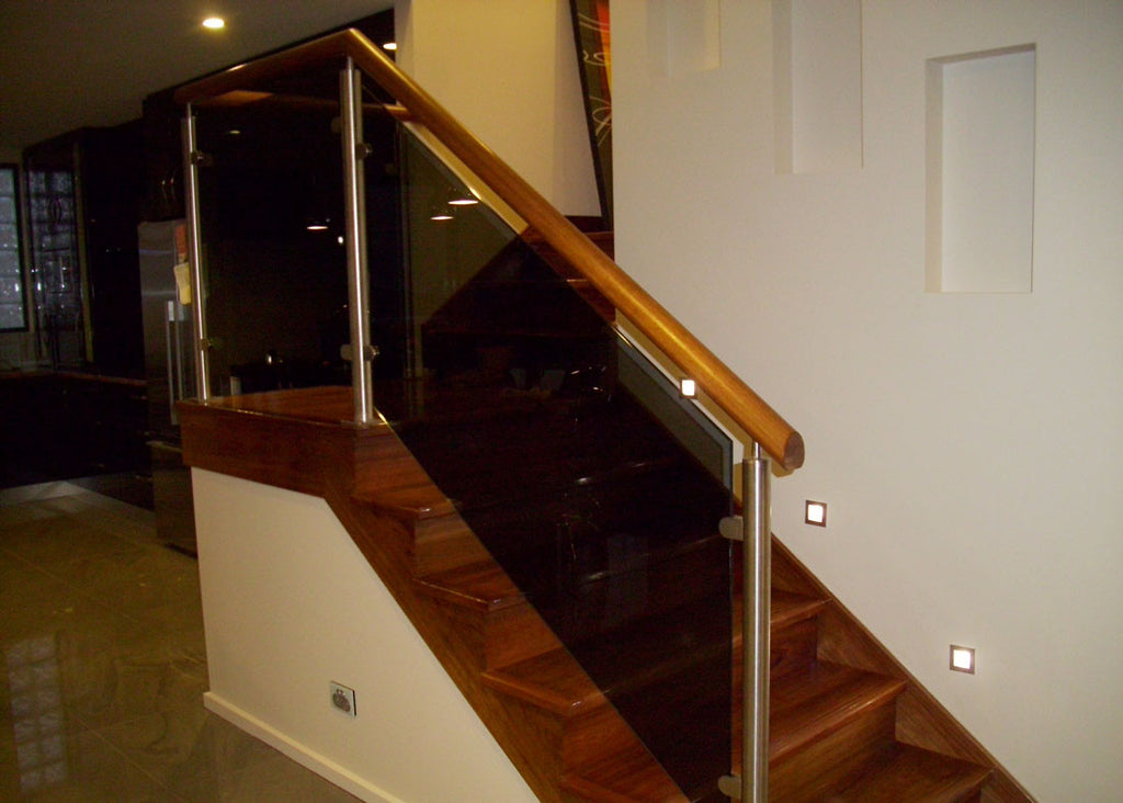 #3 Balustrade Semi Framed Glass & Stainless Steel
