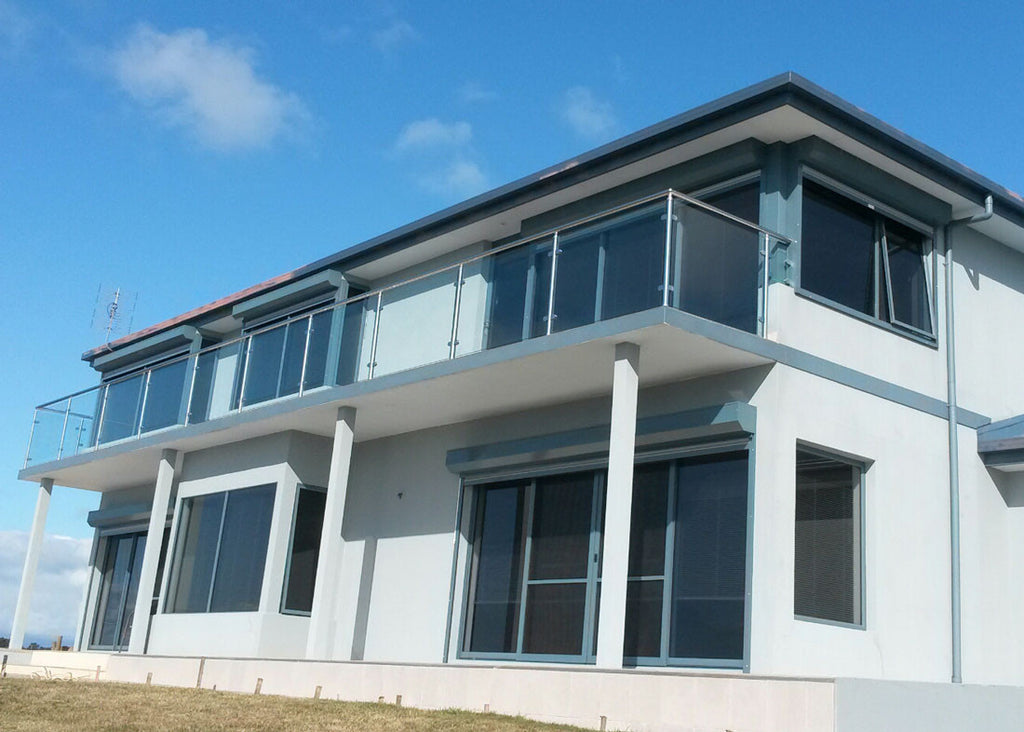 #1 Balustrade Semi Framed Glass & Stainless Steel