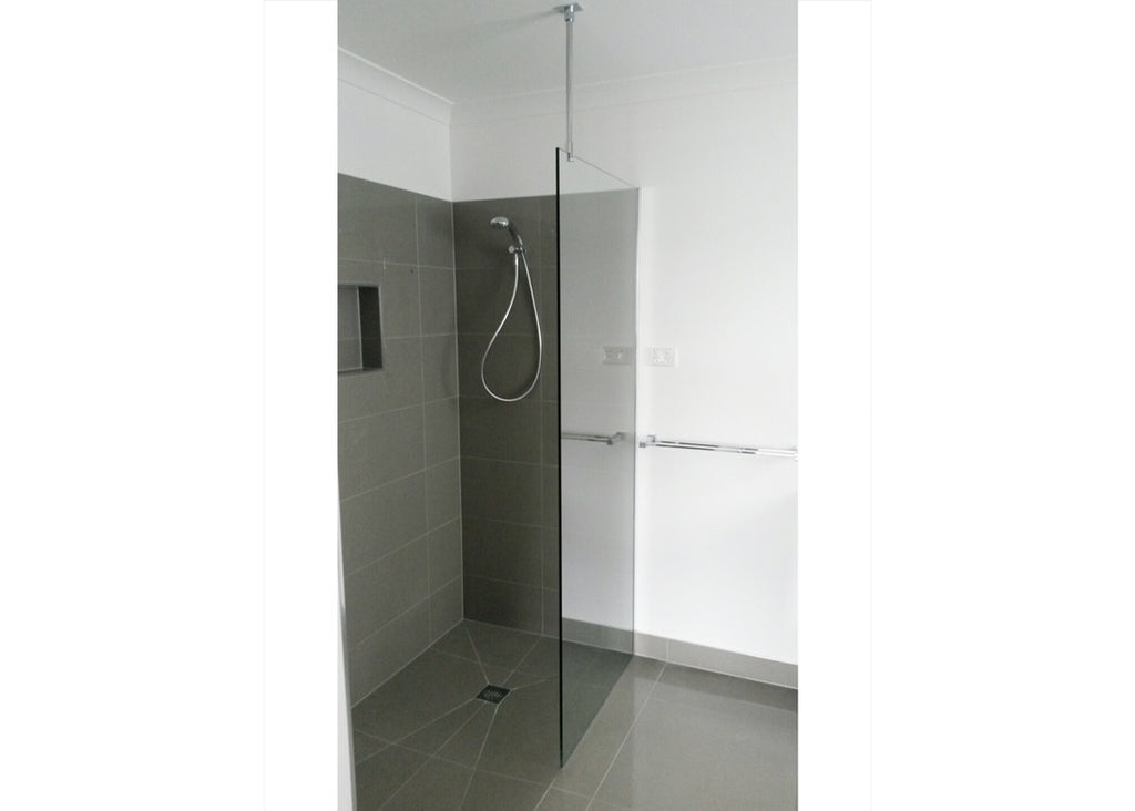 #1 Showerscreens Frameless Channel Glazed