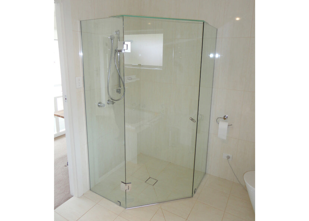 #2 Showerscreens Frameless Channel Glazed