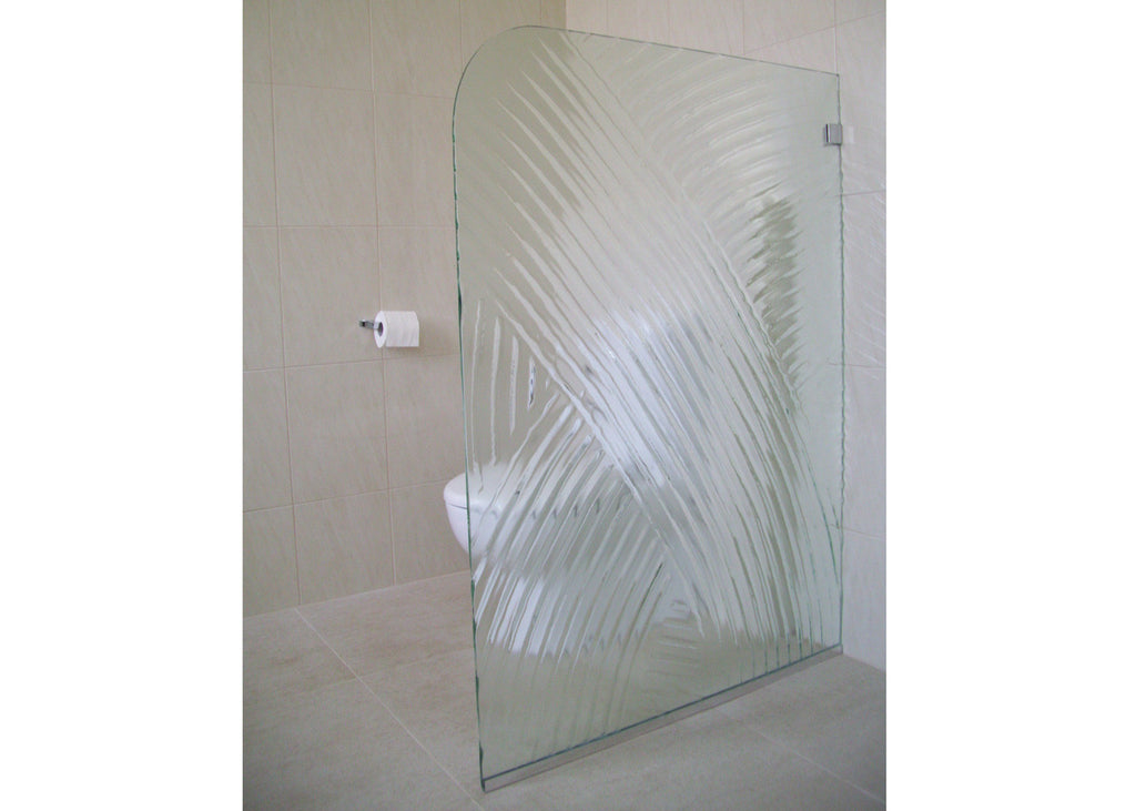 #1 Slumped Glass Showerscreens