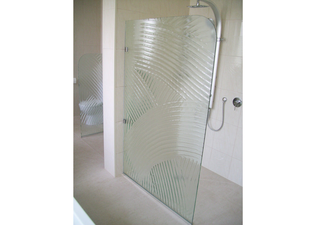 #2 Slumped Glass Showerscreens