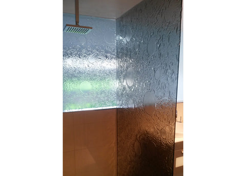 #3 Slumped Glass Showerscreens