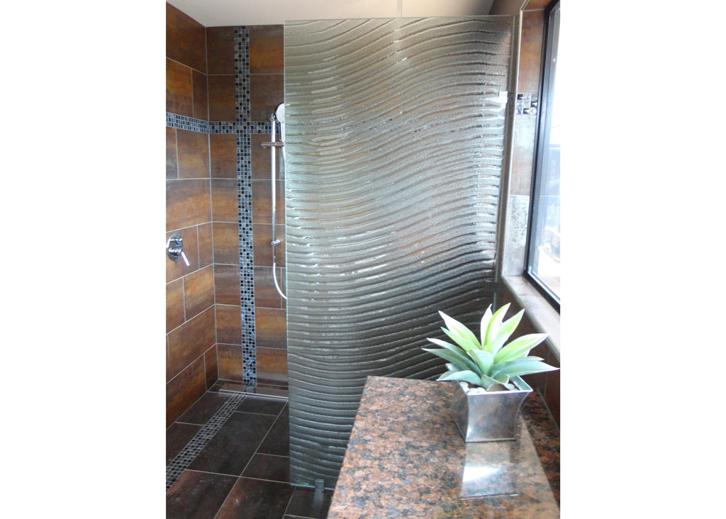 #4 Slumped Glass Showerscreens