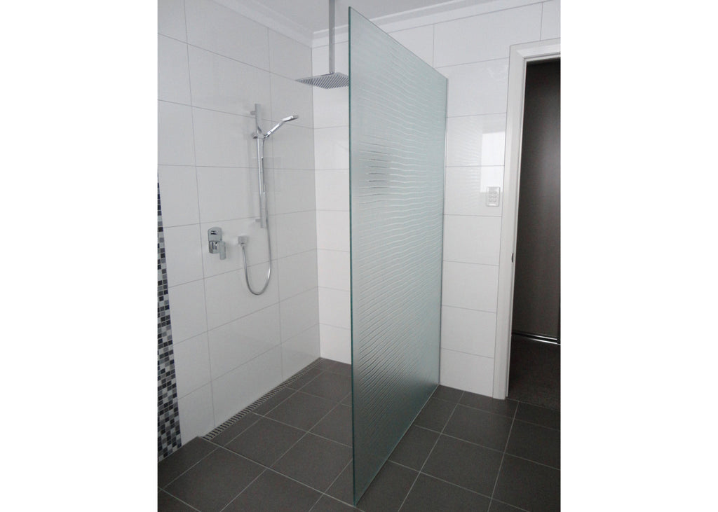 #5 Slumped Glass Showerscreens