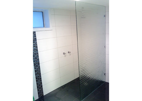 #7 Slumped Glass Showerscreens