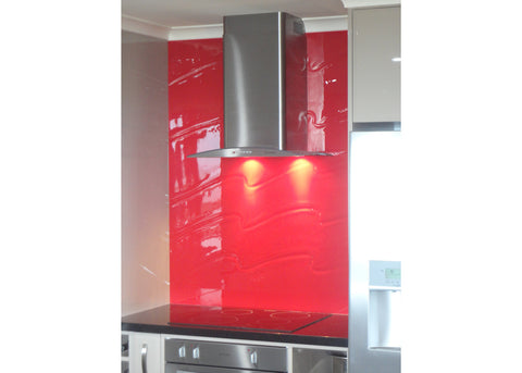 #5 Slumped Glass Splashbacks