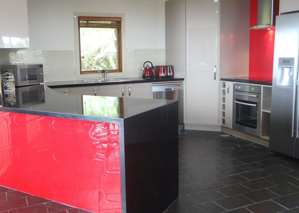 #6 Slumped Glass Splashbacks