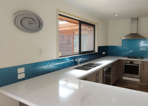 #7 Slumped Glass Splashbacks