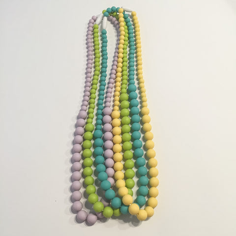 chomp necklace - bright collection