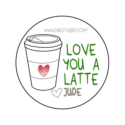 Sticker - Latte