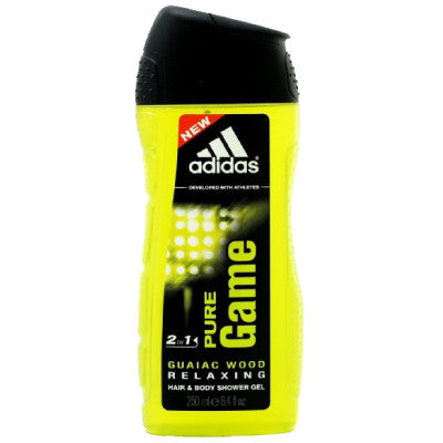 Adidas 2-in-1 Hair & Body Shower Gel - Pure Game