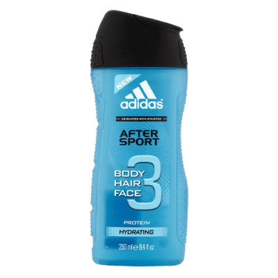 Adidas 3-in-1 After Sport Face, Hair & Body Shower Gel