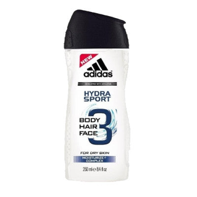 Adidas 3-in-1 Hydra Sport Face, Hair & Body Shower Gel